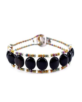 Ziio-gioielli-Bracciale-Essentiel-Black-Pearl