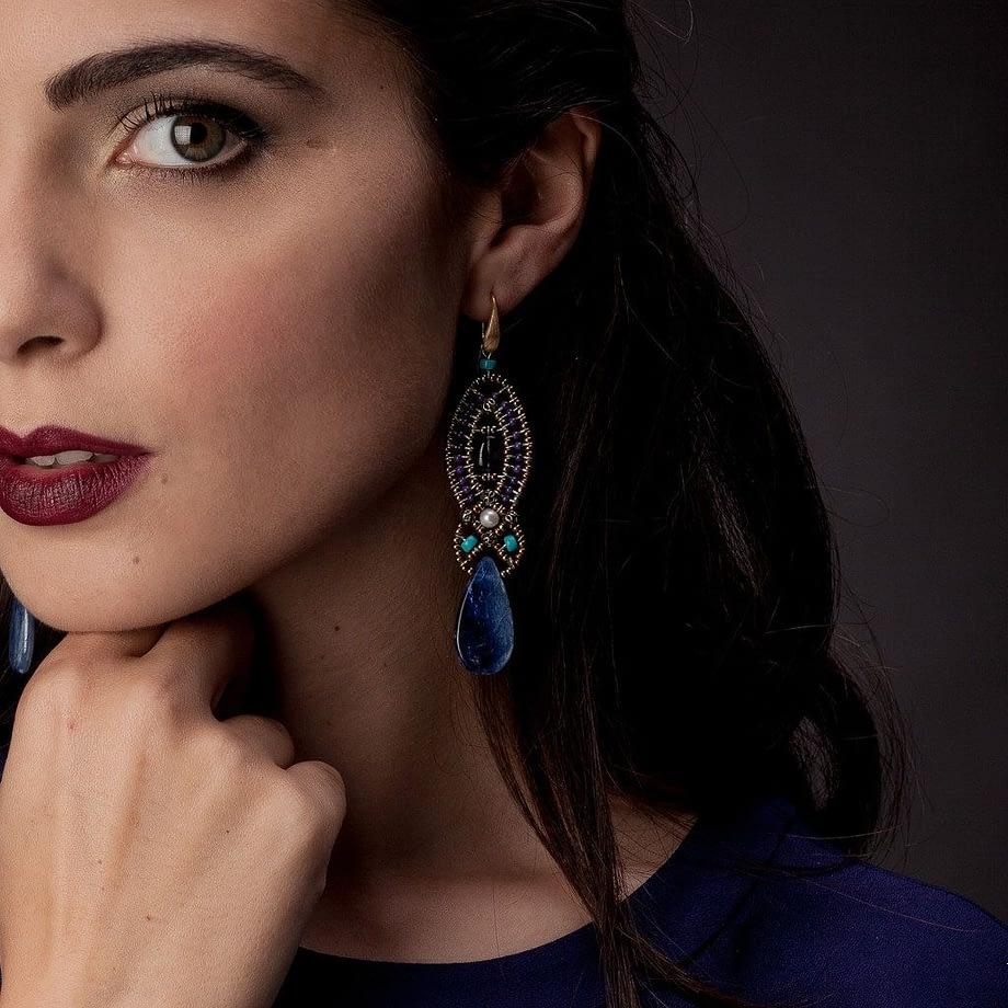 handmade-Earrings rha blue-ziio-2