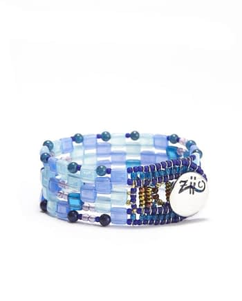 Ziio-Gioielli-bracciale pixel blu small