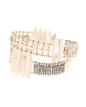 Handmade Bracelet BOA TETHIS Pearl