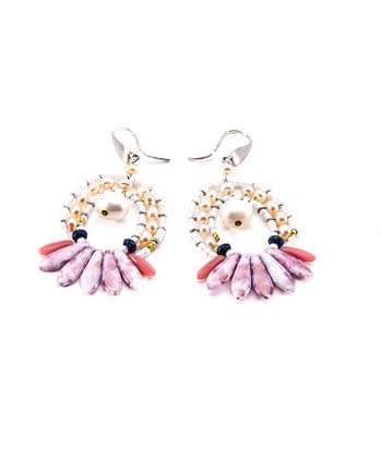 Earrings Mistinguett Pinky