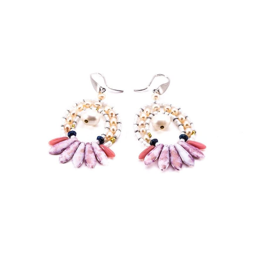 Earrings Mistinguett Pinky