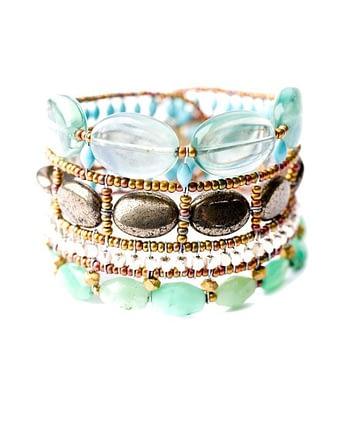 Handmade Bracelet ATLAS Acqua