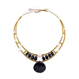 Ziio-jewels-Necklace HEART Black