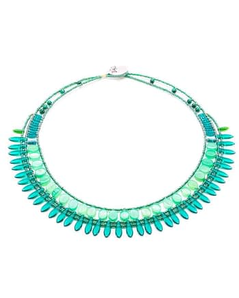 necklace mistinguett Green