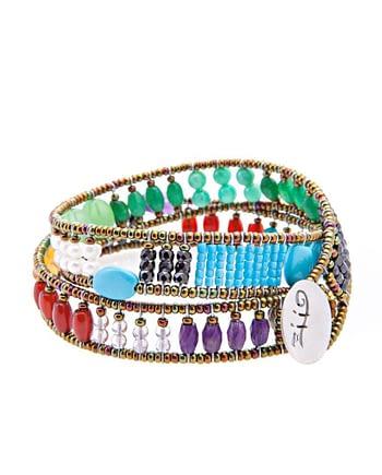 Handmade-Bracelet-BOA-KNOTT-RAINBOW-BACK-ziio
