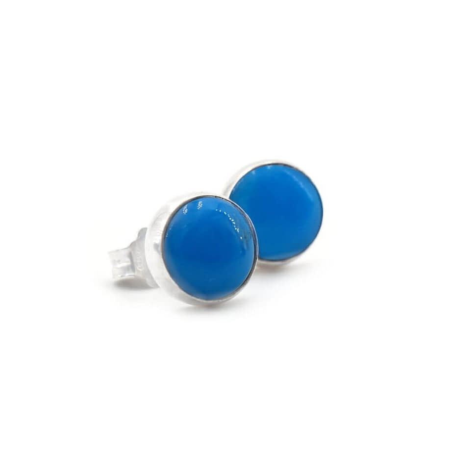 Earrings-Satellite-Cabochon-Turquoise-ziio-jewels