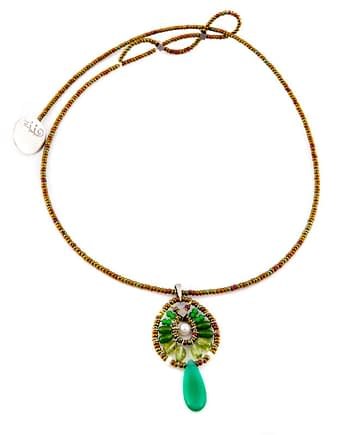 PENDANT FENICE SMALL GREEN