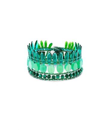 Bracelet MISTINGUETT Green