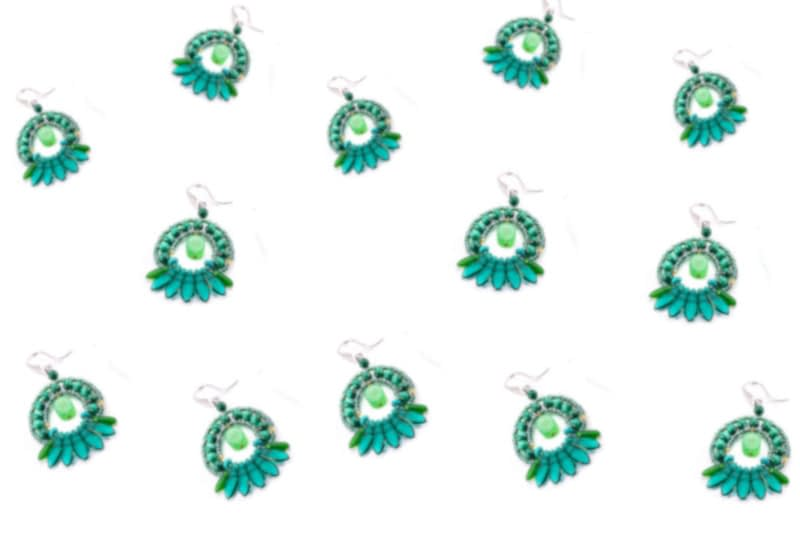 Earrings mistinguett
