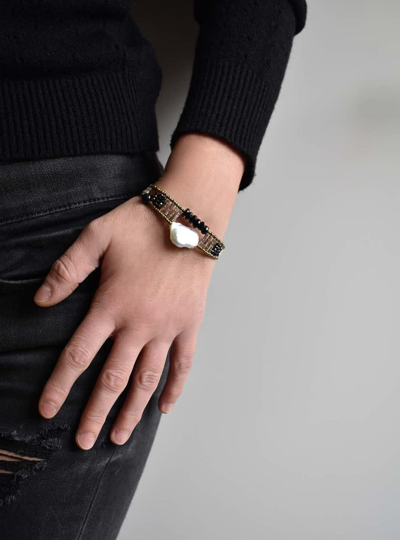 ziio-jewels-Bracelet-Baroque-pearl-Single