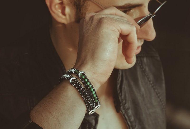 Ziio-Jewel-bracelet-Dark-Uomo