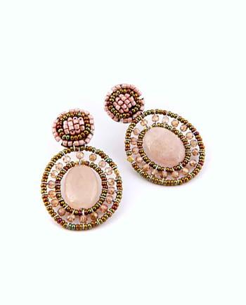 Earrings GOIABA MORGANITE