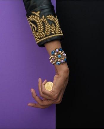 ziio jewels Bracelet Knot Lilla