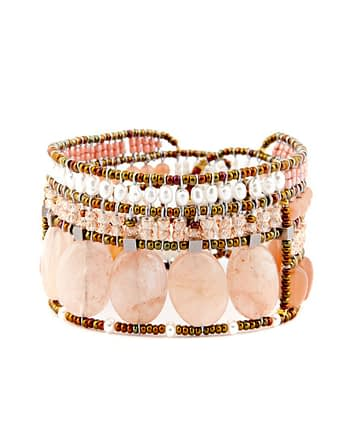 ziio handmade bracelet goiaba Morganite