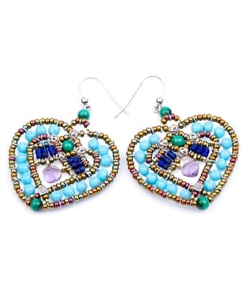 Ziio-jewels-Earrings-Coeur-Blu