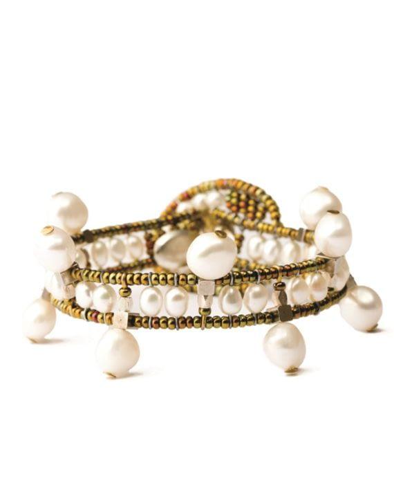Ziio Bracelet CROWN Pearl