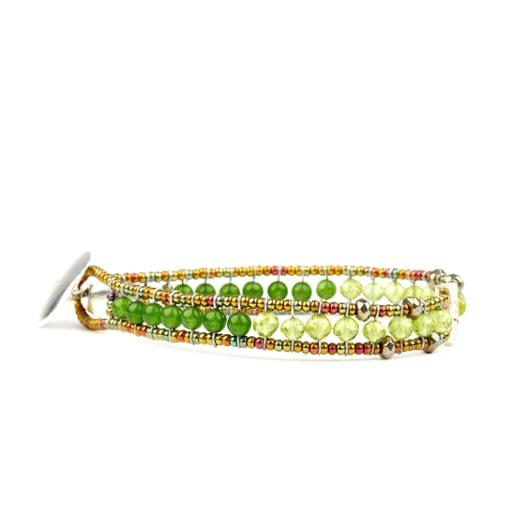 Ziio Bracelet GOUTTE Green Side