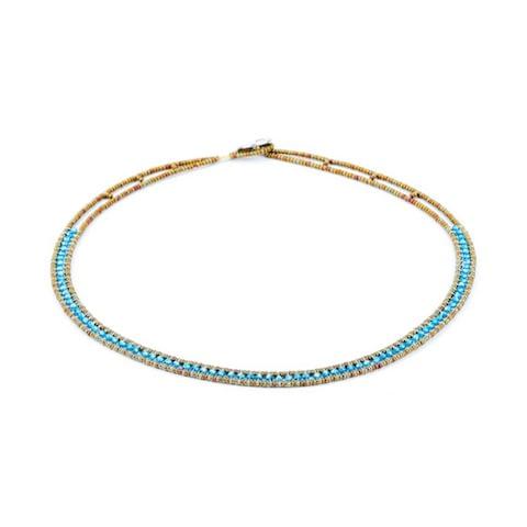 Necklace Giro Zirco