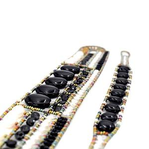 Ziio-jewels-Bracelet Goiaba Black- Bracelet Essentiel Black pearl-STESI-c