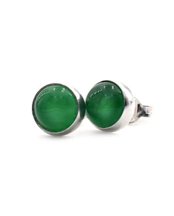 Earrings-Satellite-Cabochon-Green-Jade-ziio-jewels-2