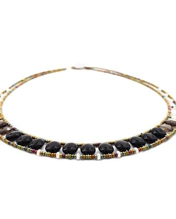 Ziio-jewels-Collana-GIRO-OVALE-BLACK