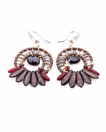 Earrings MISTINGUETT Dark