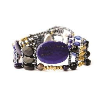 Handmade Bracelet THIN Lapis