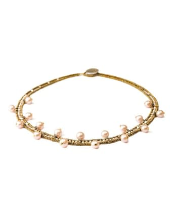 Necklace Crown PInk Ziio - Jewels