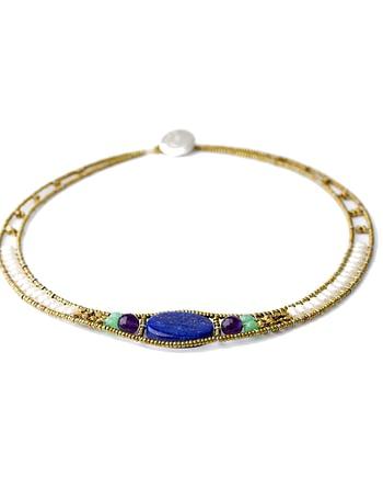 Handmade Necklace NU Lapiz