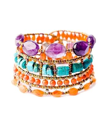 Handmade Bracelet ATLAS Violet