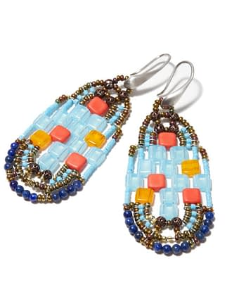 Handmade Earrings PIXEL Matisse