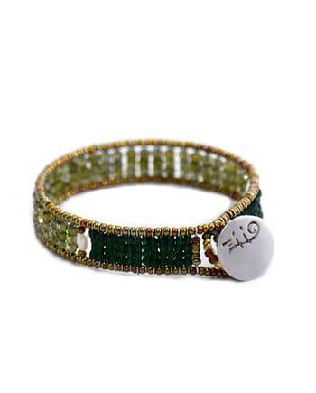 Bracelet Goiaba sil green