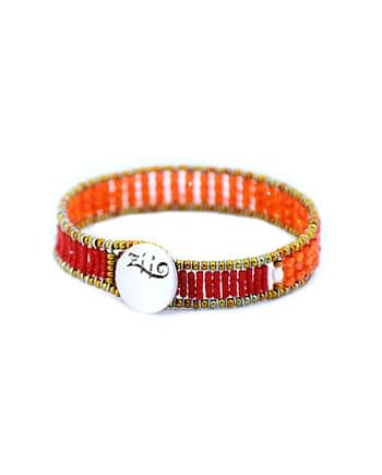Bracelet Ziio Goaiba small sil Orange