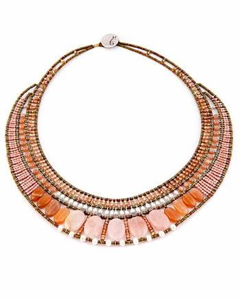 necklace Goiaba Morganite