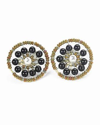 Earrings SOL Tourmaline Black
