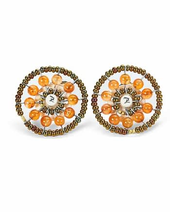 Sol Jewels Collection Earrings Sol Cornaline