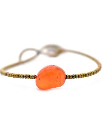 Handmade Bracelet Zen Cornaline