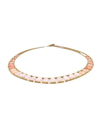 Necklace GIRO Morganite- Ziio Jewels