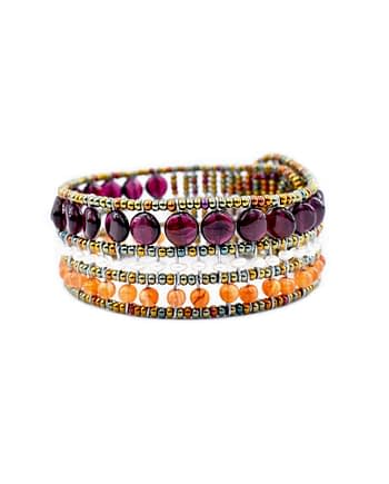 Handmade Bracelet Elisse Garnet