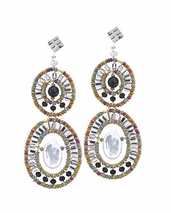 Earrings BUBBLE Pearl