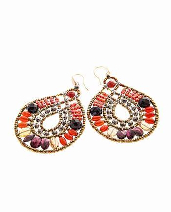 Earrings OIS PIRANGA - Ziio Jewels