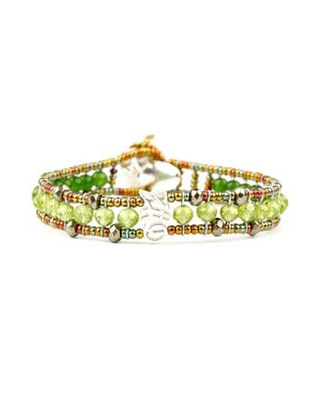 Bracelet GOUTTE Green-Ziio Jewels