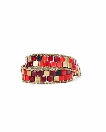 Bracelet Boa Pixy Red Ziio Jewels -c