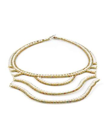 Necklace Net Pearl- Ziio Jewels