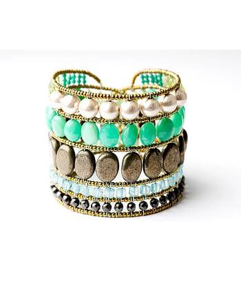 ziio-jewels-bracelet-monocromo-green