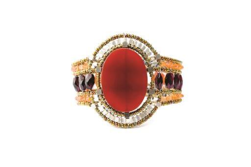 Bracelet SUN Red Onyx 2