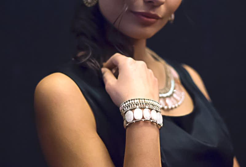 Bracelet Goaiba Morganite,Ziio trend