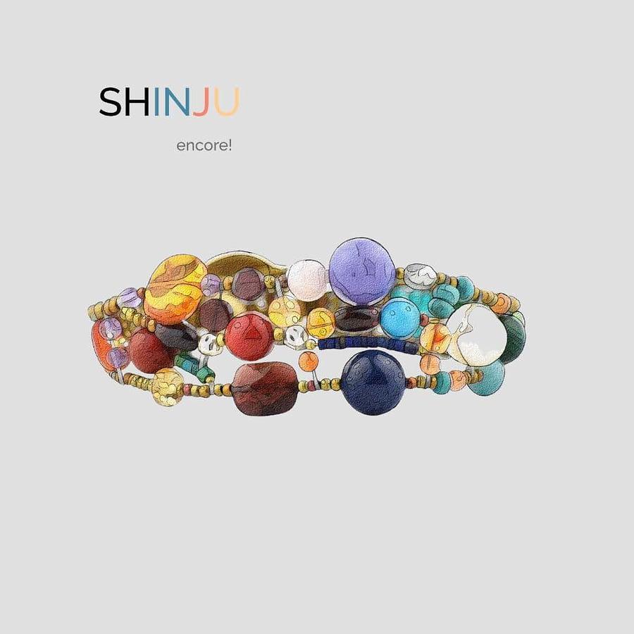 Shinju encore - Nuovi colori Bracciale Shinju Multi - Design -Ziio Gioielli