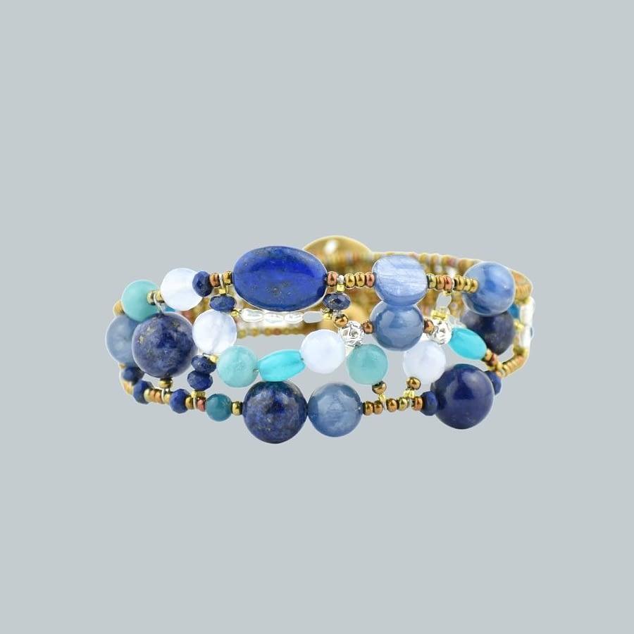 bracciale-Shinju-Blu-Ziio Gioielli